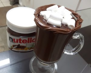 Chocolate Quente CREMOSO com NUTELLA
