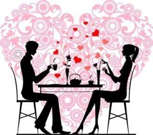Dia dos Namorados: Linguini com Camarões ao Creme de Champagne e Bombom de Morango na Taça