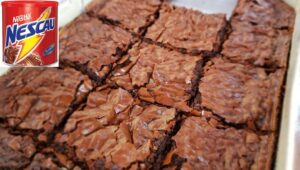 Brownie de Nescau | Brownie de achocolatado